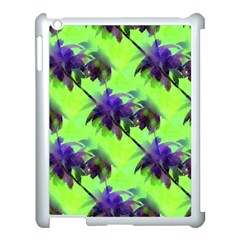 Palm Trees Lime In The Coconut Apple Ipad 3/4 Case (white) by CrypticFragmentsColors