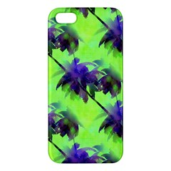 Palm Trees Lime In The Coconut Iphone 5s/ Se Premium Hardshell Case by CrypticFragmentsColors