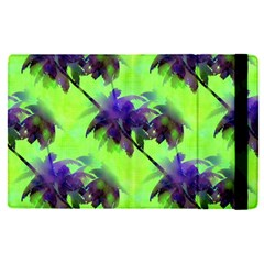 Palm Trees Lime In The Coconut Apple Ipad Pro 12 9   Flip Case by CrypticFragmentsColors