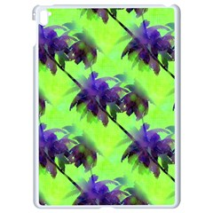 Palm Trees Lime In The Coconut Apple Ipad Pro 9 7   White Seamless Case by CrypticFragmentsColors