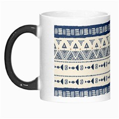 Native American Ornaments Watercolor Pattern Blue Morph Mugs