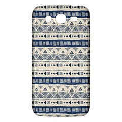 Native American Ornaments Watercolor Pattern Blue Samsung Galaxy Mega 5 8 I9152 Hardshell Case