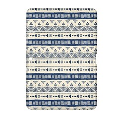 Native American Ornaments Watercolor Pattern Blue Samsung Galaxy Tab 2 (10 1 ) P5100 Hardshell Case