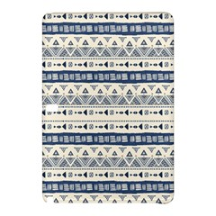 Native American Ornaments Watercolor Pattern Blue Samsung Galaxy Tab Pro 10 1 Hardshell Case