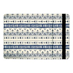Native American Ornaments Watercolor Pattern Blue Samsung Galaxy Tab Pro 10 1  Flip Case