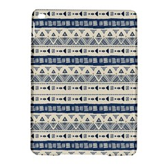 Native American Ornaments Watercolor Pattern Blue Ipad Air 2 Hardshell Cases