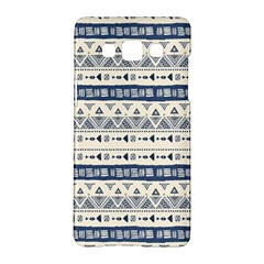 Native American Ornaments Watercolor Pattern Blue Samsung Galaxy A5 Hardshell Case
