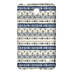 Native American Ornaments Watercolor Pattern Blue Samsung Galaxy Tab 4 (8 ) Hardshell Case