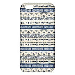 Native American Ornaments Watercolor Pattern Blue Iphone 6 Plus/6s Plus Tpu Case by EDDArt