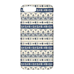 Native American Ornaments Watercolor Pattern Blue Apple Iphone 7 Plus Hardshell Case