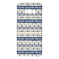 Native American Ornaments Watercolor Pattern Blue Samsung Galaxy S8 Plus Hardshell Case