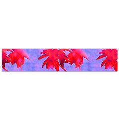 Palm Trees Neon Nights Small Flano Scarf by CrypticFragmentsColors
