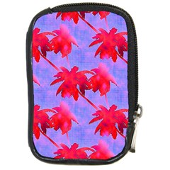 Palm Trees Neon Nights Compact Camera Cases by CrypticFragmentsColors