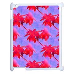 Palm Trees Neon Nights Apple Ipad 2 Case (white) by CrypticFragmentsColors