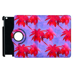 Palm Trees Neon Nights Apple Ipad 3/4 Flip 360 Case by CrypticFragmentsColors