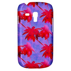 Palm Trees Neon Nights Samsung Galaxy S3 Mini I8190 Hardshell Case by CrypticFragmentsColors