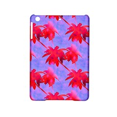 Palm Trees Neon Nights Ipad Mini 2 Hardshell Cases by CrypticFragmentsColors
