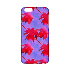 Palm Trees Neon Nights Apple Iphone 6/6s Hardshell Case by CrypticFragmentsColors