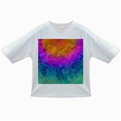 Fractal Batik Art Hippie Rainboe Colors 1 Infant/toddler T Shirts by EDDArt