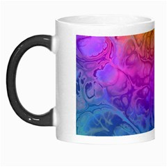 Fractal Batik Art Hippie Rainboe Colors 1 Morph Mugs by EDDArt