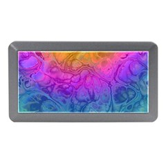 Fractal Batik Art Hippie Rainboe Colors 1 Memory Card Reader (mini)
