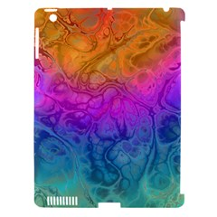 Fractal Batik Art Hippie Rainboe Colors 1 Apple Ipad 3/4 Hardshell Case (compatible With Smart Cover) by EDDArt