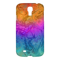 Fractal Batik Art Hippie Rainboe Colors 1 Samsung Galaxy S4 I9500/i9505 Hardshell Case