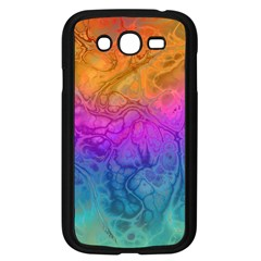 Fractal Batik Art Hippie Rainboe Colors 1 Samsung Galaxy Grand Duos I9082 Case (black) by EDDArt