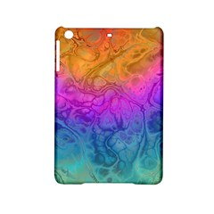 Fractal Batik Art Hippie Rainboe Colors 1 Ipad Mini 2 Hardshell Cases by EDDArt