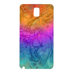 Fractal Batik Art Hippie Rainboe Colors 1 Samsung Galaxy Note 3 N9005 Hardshell Back Case by EDDArt