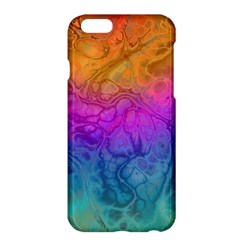 Fractal Batik Art Hippie Rainboe Colors 1 Apple Iphone 6 Plus/6s Plus Hardshell Case by EDDArt