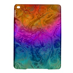 Fractal Batik Art Hippie Rainboe Colors 1 Ipad Air 2 Hardshell Cases by EDDArt
