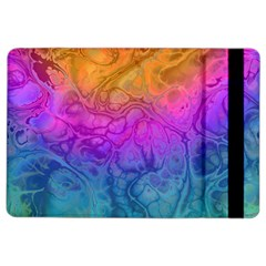 Fractal Batik Art Hippie Rainboe Colors 1 Ipad Air 2 Flip by EDDArt