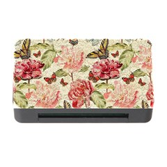 Watercolor Vintage Flowers Butterflies Lace 1 Memory Card Reader With Cf by EDDArt