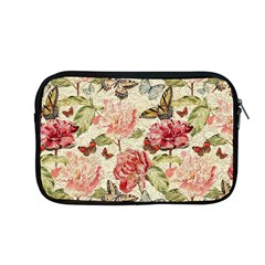 Watercolor Vintage Flowers Butterflies Lace 1 Apple Macbook Pro 13  Zipper Case by EDDArt