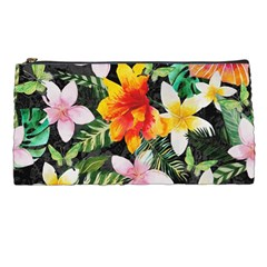 Tropical Flowers Butterflies 1 Pencil Cases