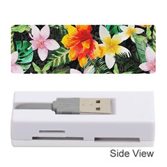 Tropical Flowers Butterflies 1 Memory Card Reader (stick) by EDDArt