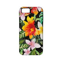 Tropical Flowers Butterflies 1 Apple Iphone 5 Classic Hardshell Case (pc+silicone) by EDDArt