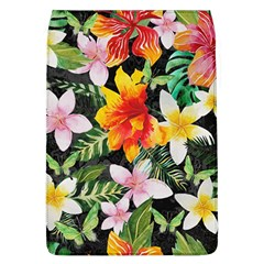 Tropical Flowers Butterflies 1 Flap Covers (l)  by EDDArt