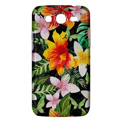 Tropical Flowers Butterflies 1 Samsung Galaxy Mega 5 8 I9152 Hardshell Case  by EDDArt