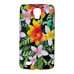 Tropical Flowers Butterflies 1 Samsung Galaxy S4 Active (i9295) Hardshell Case by EDDArt