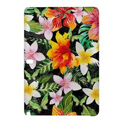 Tropical Flowers Butterflies 1 Samsung Galaxy Tab Pro 10 1 Hardshell Case by EDDArt