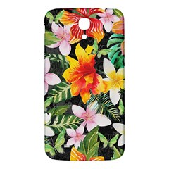Tropical Flowers Butterflies 1 Samsung Galaxy Mega I9200 Hardshell Back Case by EDDArt