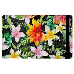 Tropical Flowers Butterflies 1 Apple Ipad Pro 12 9   Flip Case by EDDArt