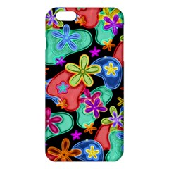 Colorful Retro Flowers Fractalius Pattern 1 Iphone 6 Plus/6s Plus Tpu Case by EDDArt