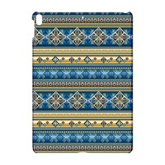 Vintage Border Wallpaper Pattern Blue Gold Apple Ipad Pro 10 5   Hardshell Case by EDDArt