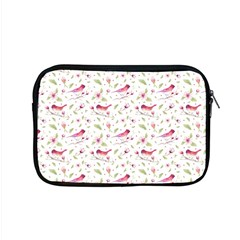 Watercolor Birds Magnolia Spring Pattern Apple Macbook Pro 15  Zipper Case by EDDArt