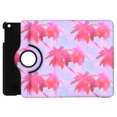 Palm Trees Paradise Pink Pastel Apple Ipad Mini Flip 360 Case by CrypticFragmentsColors