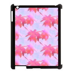 Palm Trees Paradise Pink Pastel Apple Ipad 3/4 Case (black) by CrypticFragmentsColors