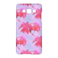 Palm Trees Paradise Pink Pastel Samsung Galaxy A5 Hardshell Case  by CrypticFragmentsColors